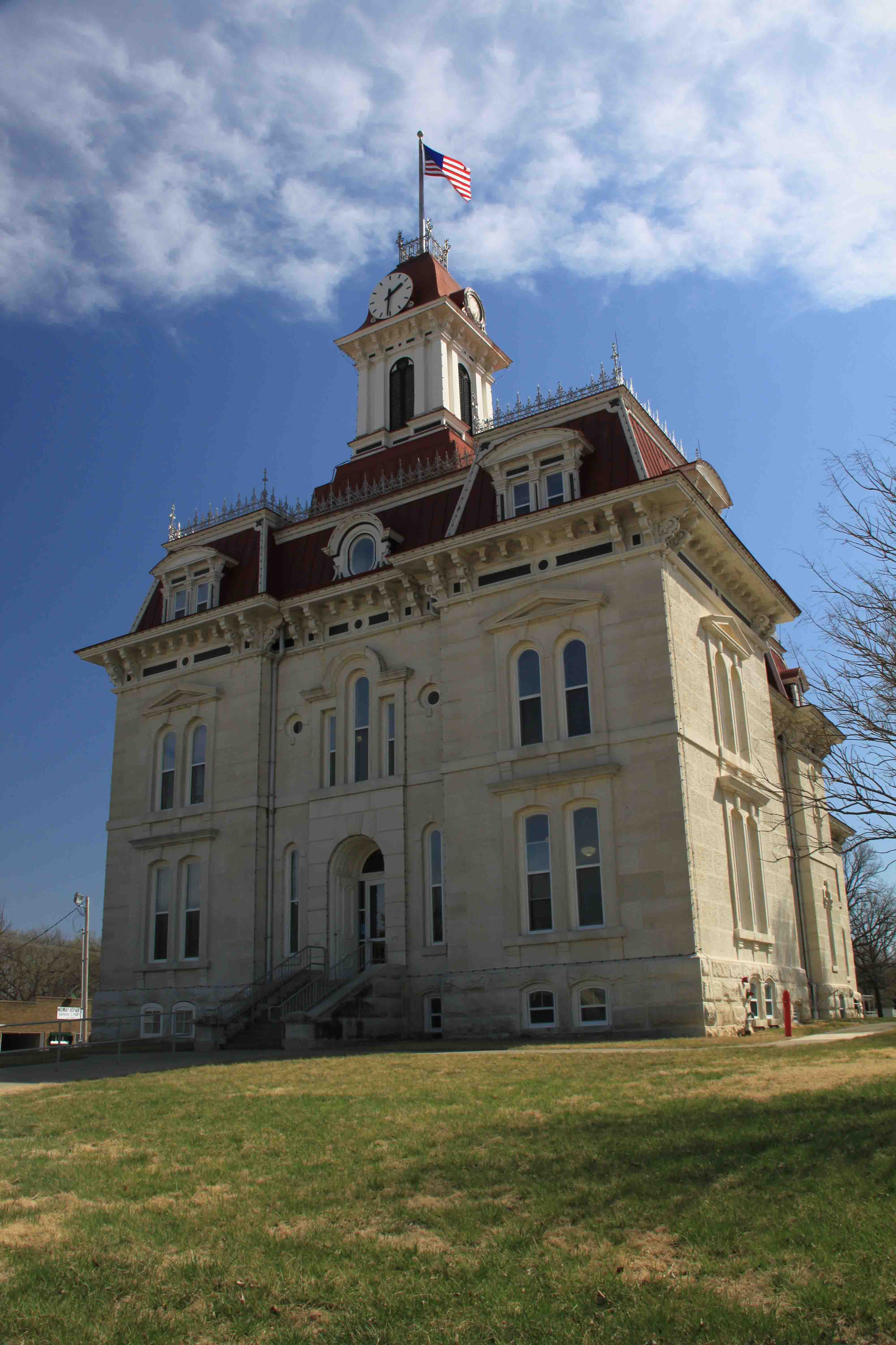 chase county courthouse in kanasa