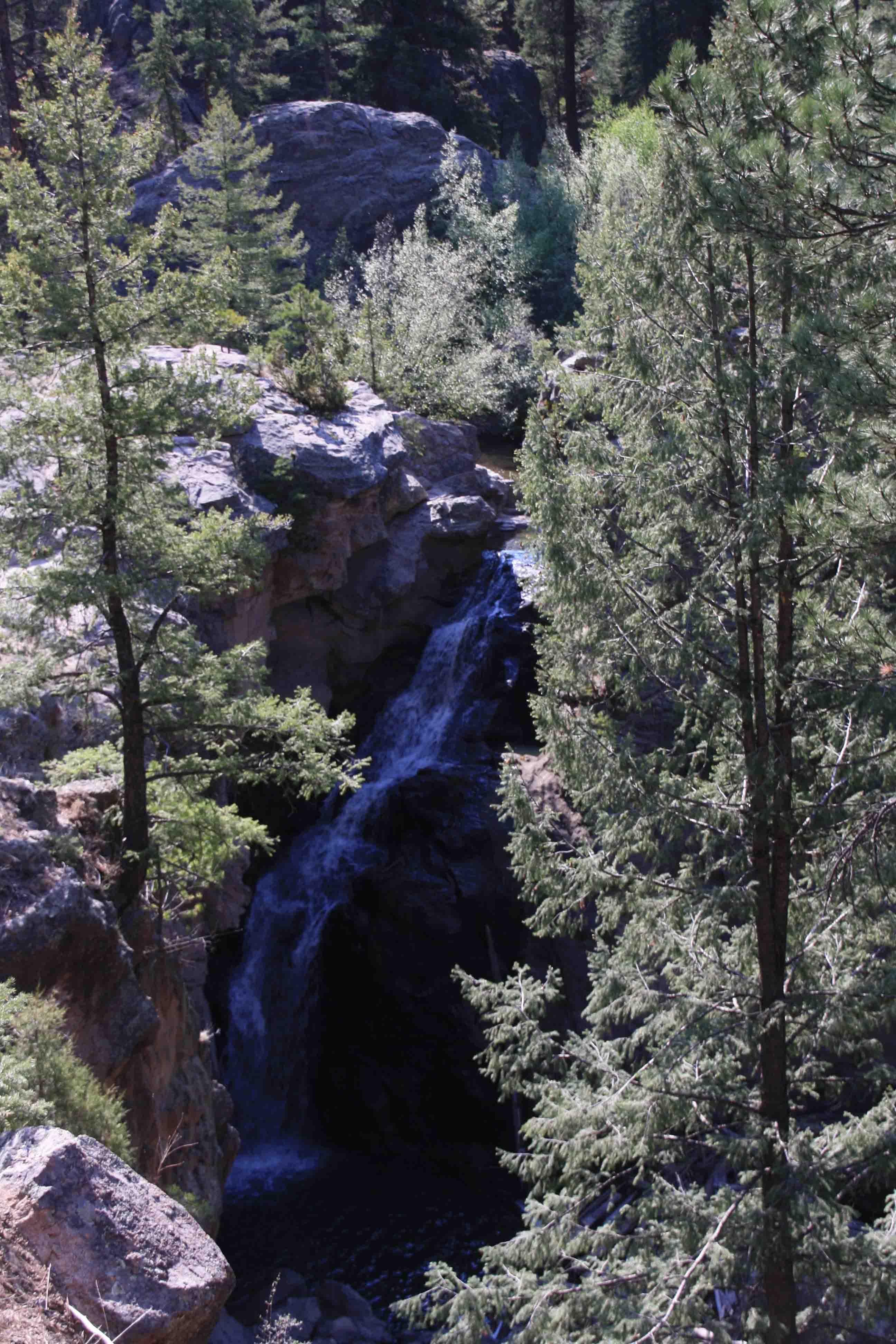 jemez falls, new mexico