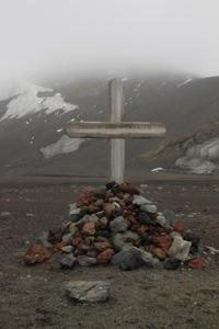 Whalers bay, deception island, Antarctica, grave