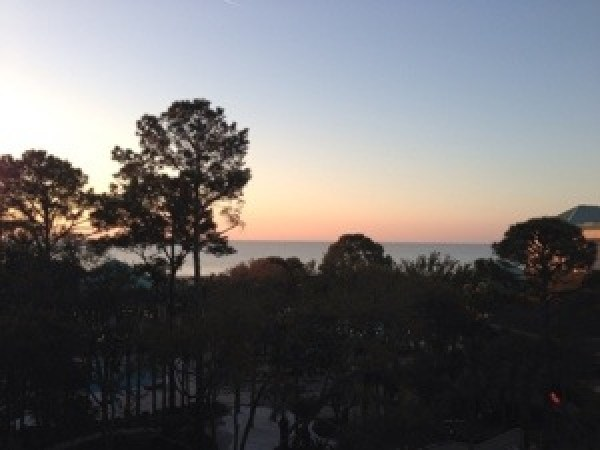 sunrise at the Westin Hilton Head Island Resort and Spa