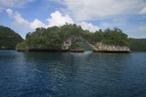 Natural Arch of Palau