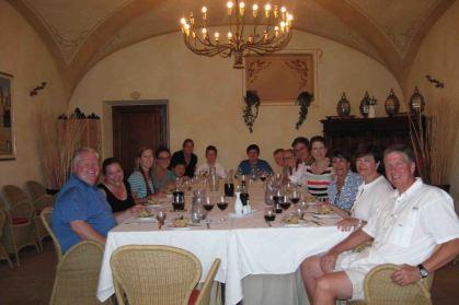 Ron, Liz, Beth, Caroline, Michael, Heidi, Charles, Cliff, Landon, Lindsey, Clark, Connally, Marci, Christian, Craig