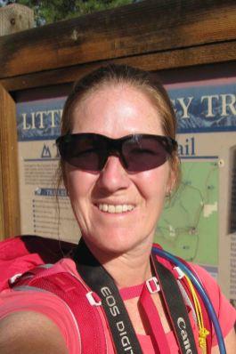 at the trailhead, segment 3 of the Colorado Trail