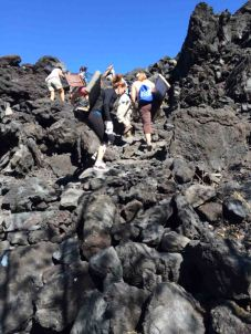 hiking cerro negro