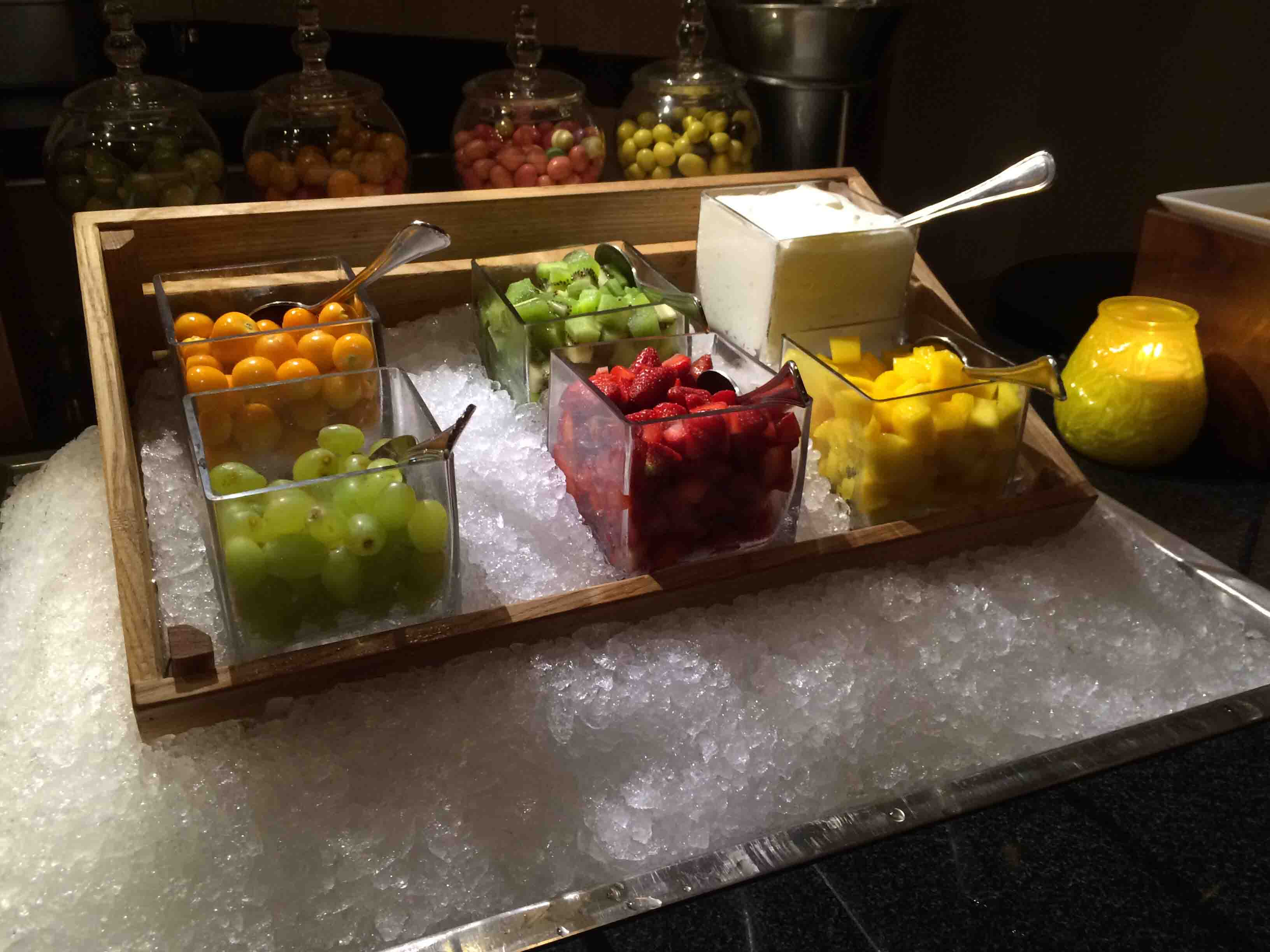fruit at Palace Downtown Duba