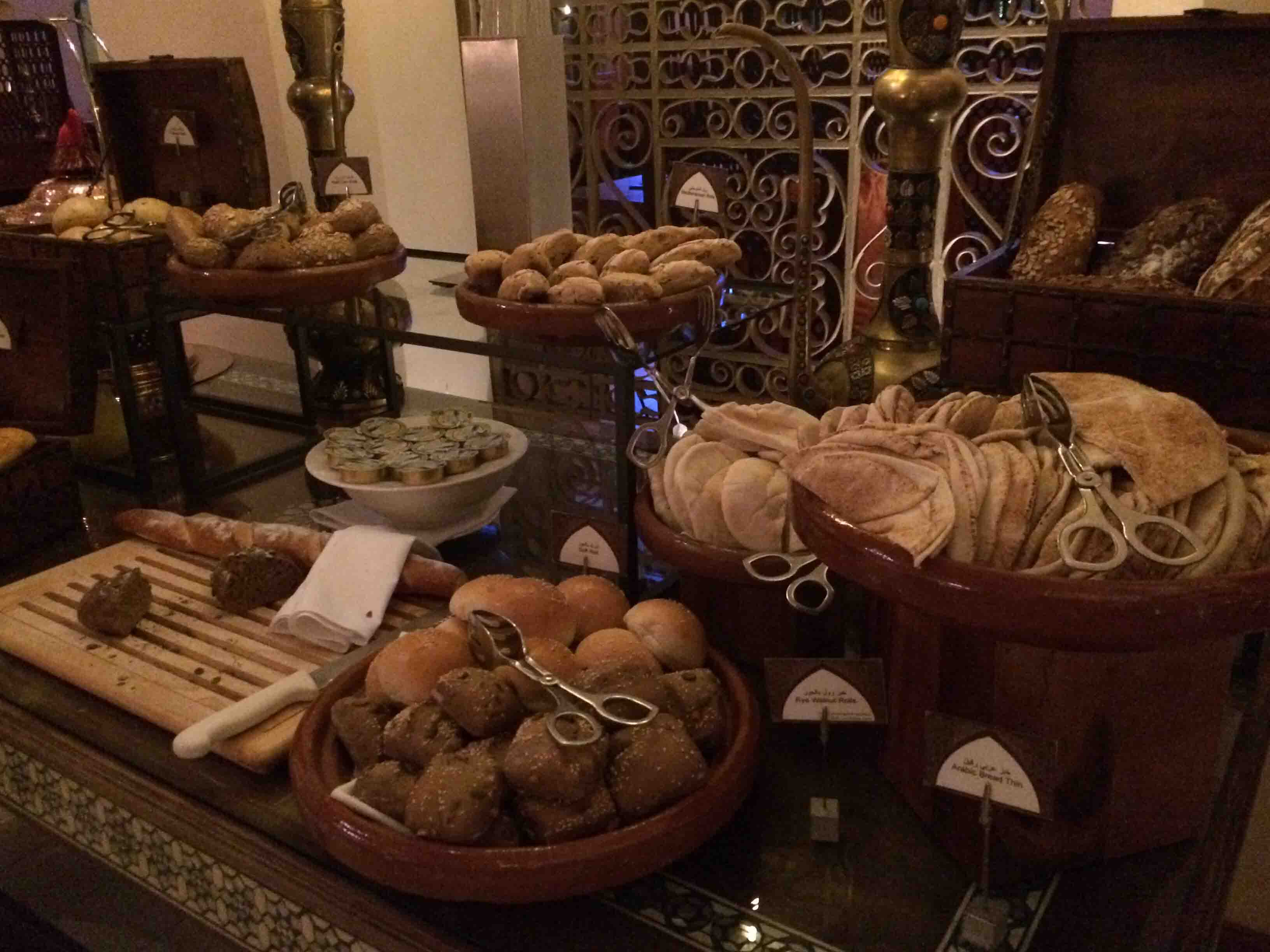 bread at Palace Downtown Duba