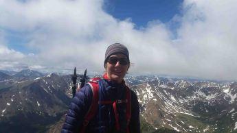 Me on the summit of Mount Massive