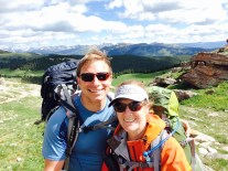 David and I on the Colorado Trail