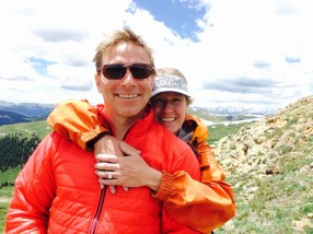 Engaged on the Colorado Trail