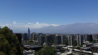 view from santa lucia hill