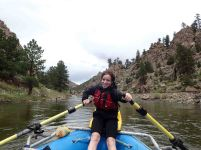 rafting brown's canyon