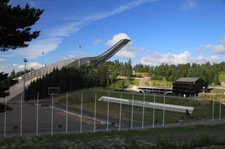 big ski jump