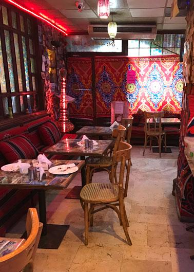 restaurant at amman pasha hotel