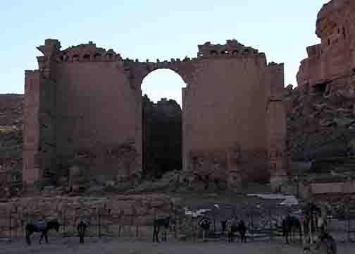 Qsar Al-Bint in petra