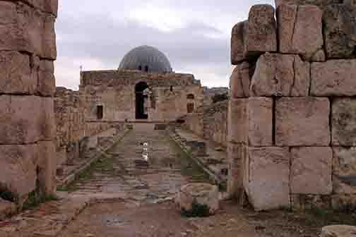 Umayyad Palace at the Citadel in Amman