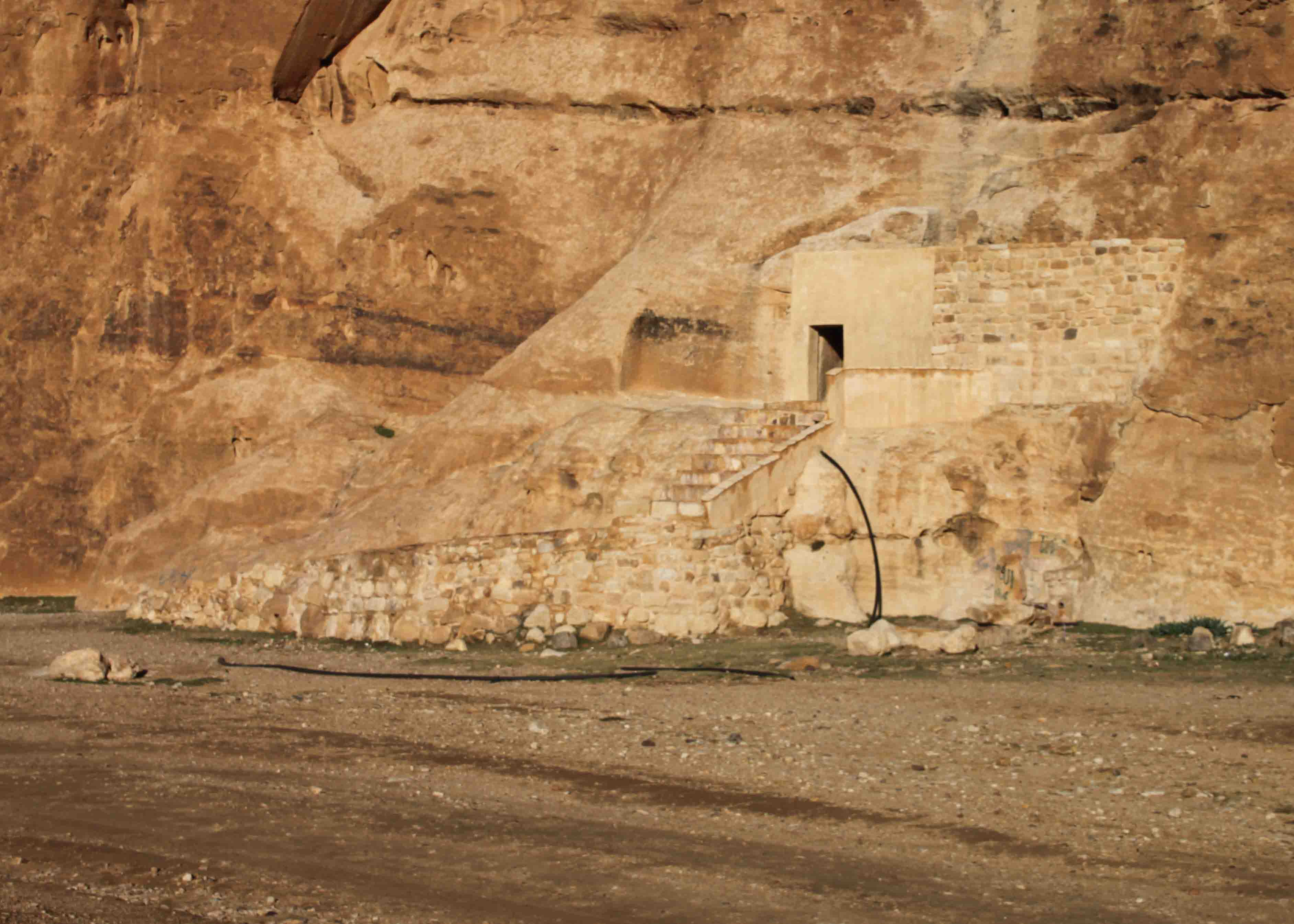 nabatean cistern near little petra