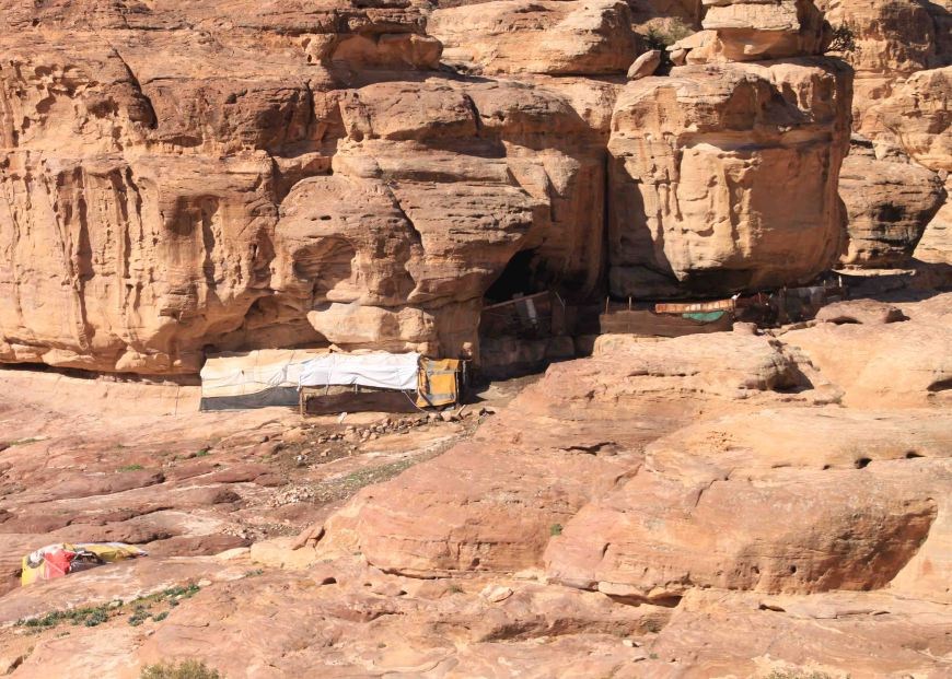 bedouin camp in Jordan