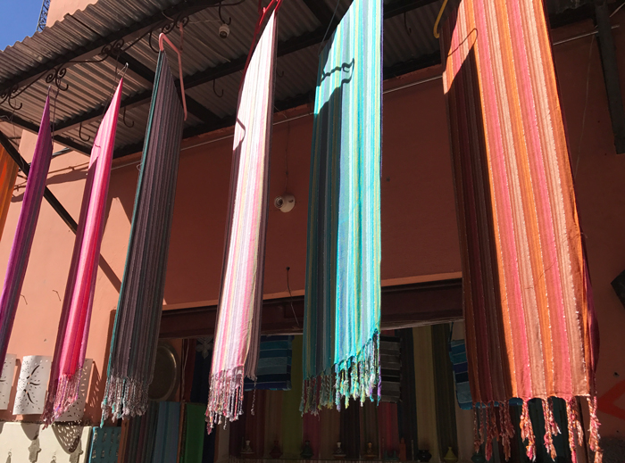 shop in Marrakesh medina