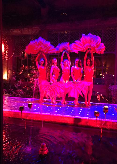 dancers at palais jad mahal