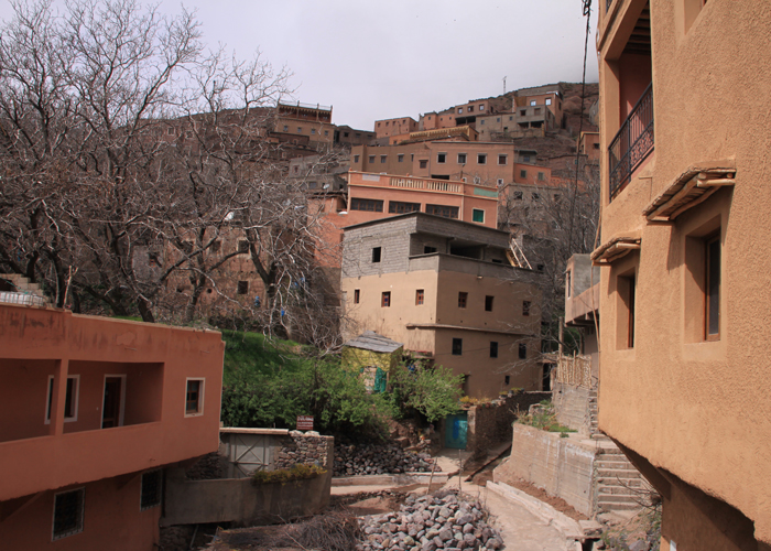 ait souka in the high atlas mountains