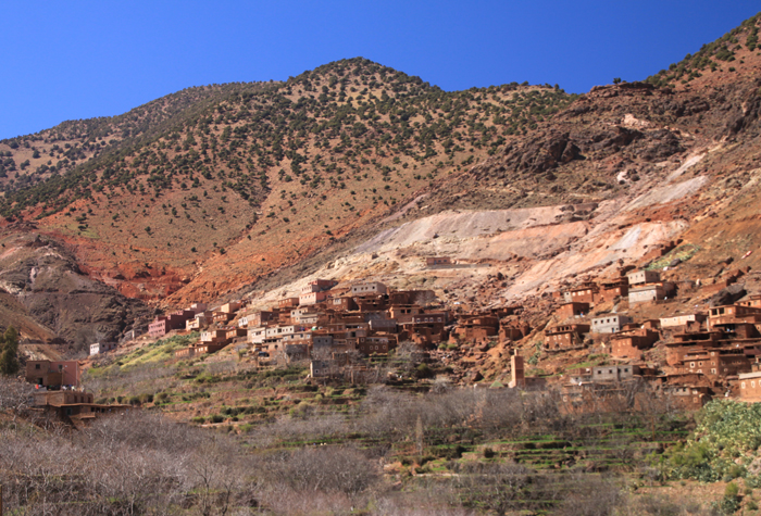 town on tizi oudite trail