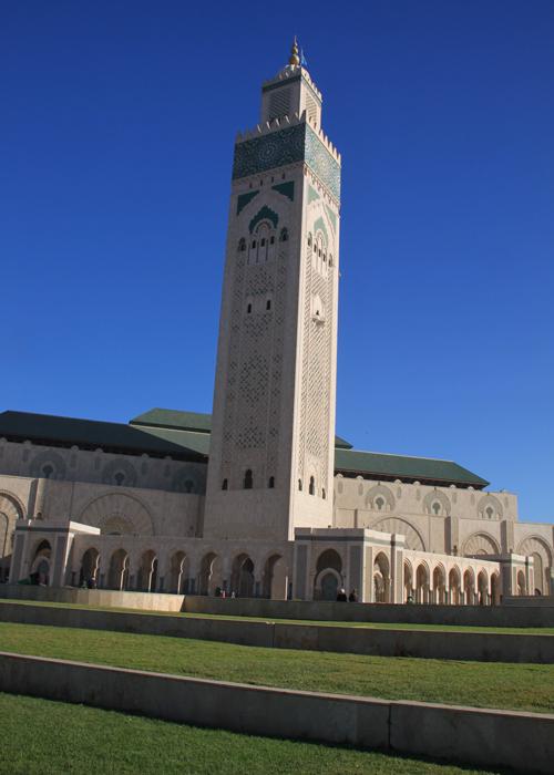Hassan II Mosque in Casablance