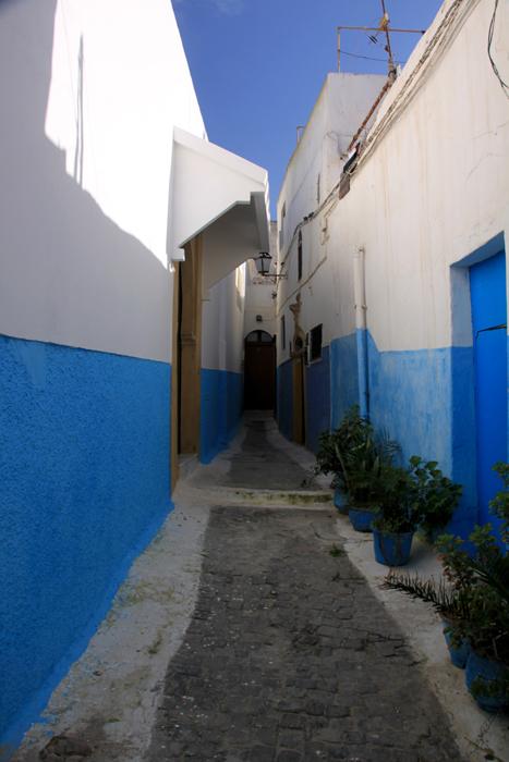 alleyway in rabat