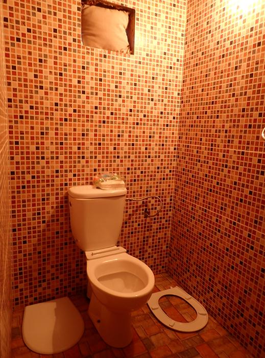 our bathroom in our riad