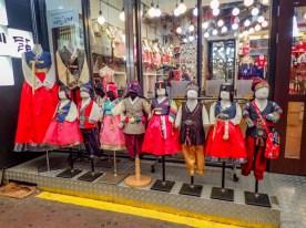 market in seoul, south Korea