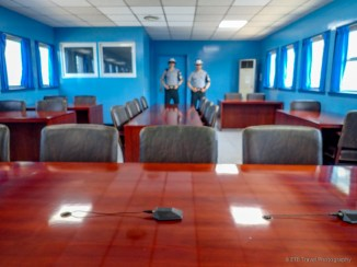 JSA Building at the DMZ