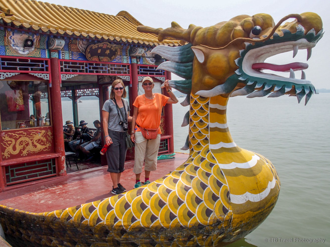 dragon boat in beijing