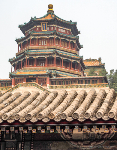 Tower of the Fragrance of Bhudda in Beijing