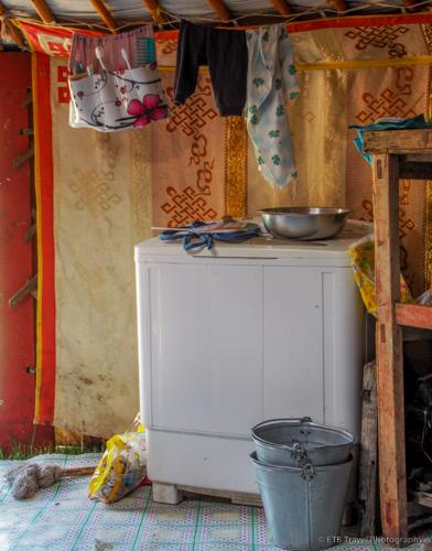 inside a nomad's ger