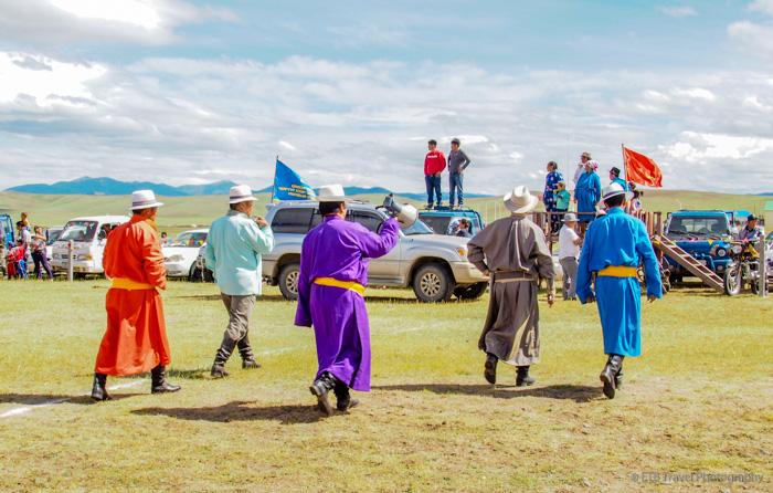judges at Naadam horse race