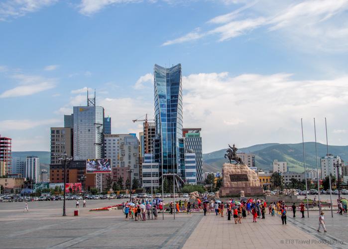 Exploring Ulaanbaatar:  Sukhbaatar
