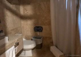 bathroom at hotel