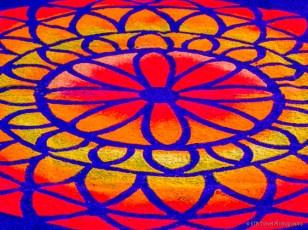 easter carpet