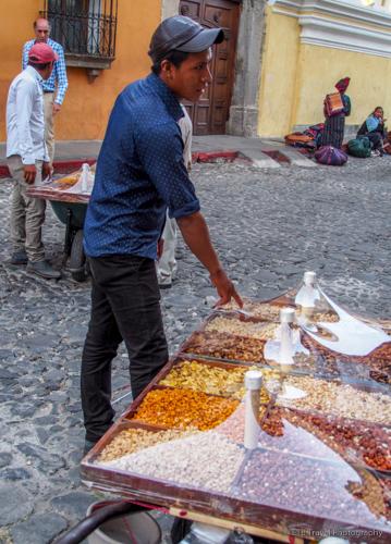 nut cart in Antigua