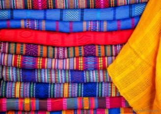 colorful cloths