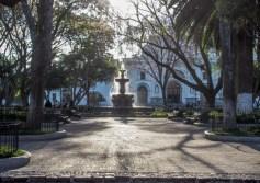 Parque Central in Antigua