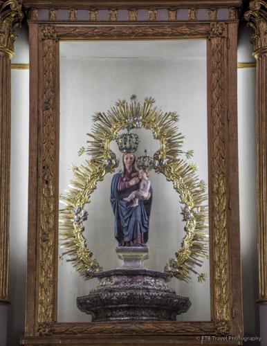 Virgin Mary breast feeding