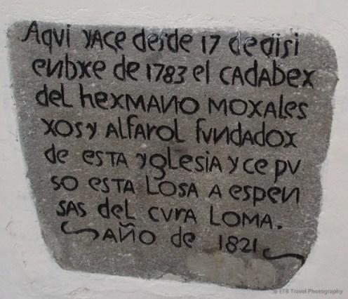Old Spanish writing