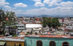view of Guatemala City