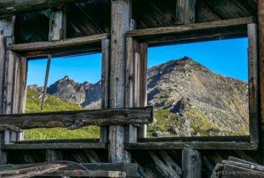 Independence Mine, hiking