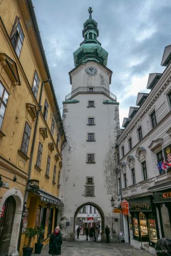 Michael's Gate in Bratislava