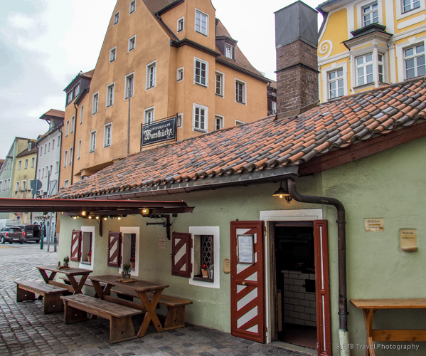 Historische Würstküche, oldest sausage restaurant in Germany