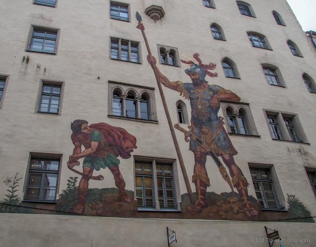 Goliath House in Regensburg