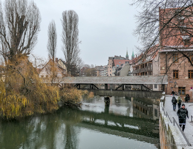 Hangman's Bridge in Nuremberg