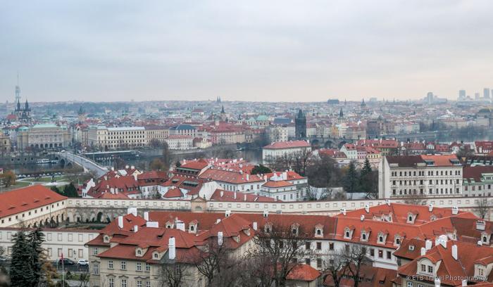 View of Prague from Hradčany Square