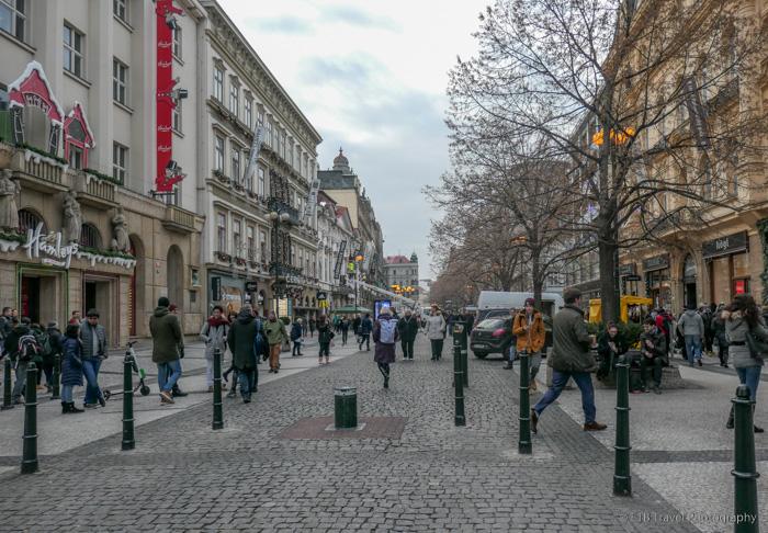 Na Příkopě in Prague